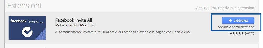 invitare a eventi facebook