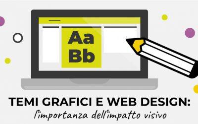 Temi grafici e web design: l'importanza dell' impatto visivo